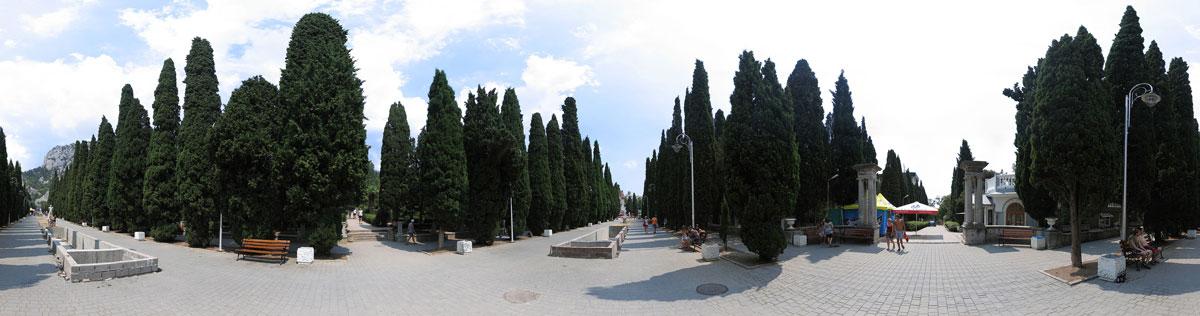 360° панорама «Симеизский проспект»